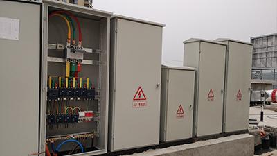 蚌埠红塔片区安置房在千亚电气定制低压配电箱